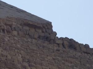Great Pyramid Top Closeup