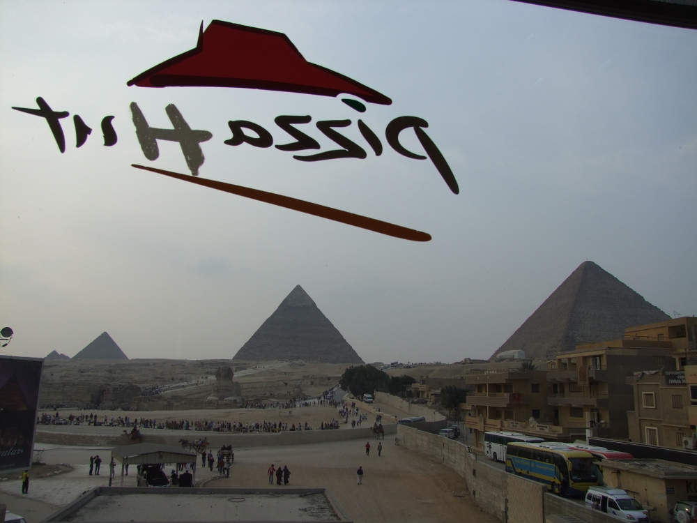 Giza Pyramids Pizza Hut