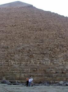 Scott Diane and Brandon at Giza
