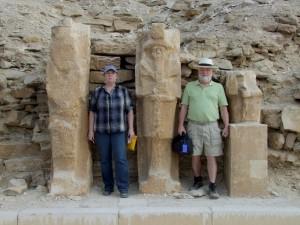 Scott and Diane Pharaoh pose