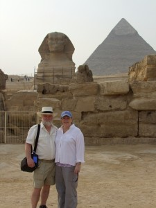 Scott and Diane at Sphinx